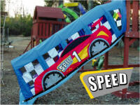 Fantaslides Slide Cover Race Car